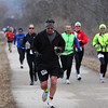 Trailbreaker Marathon : Waukesha, WI - Apr 2, 2011  Photos from the pre-race, start, near CTH DT (about mile 7), marathon turn around at the Lapham Peak tower and some at the finish.