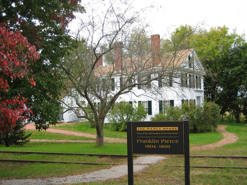Franklin Pierce House in Concord, NH