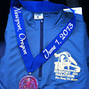 Newport Marathon - Newport, OR<br /> Shirt and finisher medal